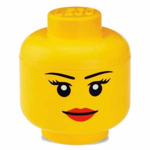 Room Copenhagen LEGO Iconic Girls Storage Head - Large