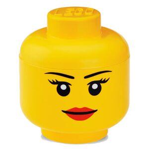 Room Copenhagen LEGO Iconic Girls Storage Head - Large