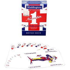 Waddingtons No. 1 Playing Cards - Union Jack