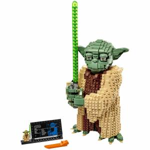 Lego Star Wars: Yoda Figure Attack of the Clones Set (75255)