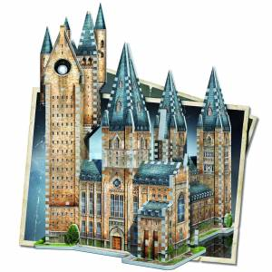 Wrebbit Harry Potter Hogwarts Astronomy Tower 3D Puzzle (875 Pieces)