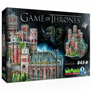 Wrebbit Game of Thrones: Red Keep 3D Puzzle (845 Pieces)