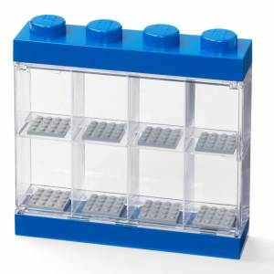 Room Copenhagen LEGO Mini Figure Display (8 Minifigures) - Blue