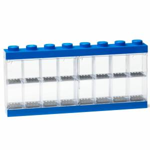 Forvara LEGO Mini Figure Display (16 Minifigures) - Blue