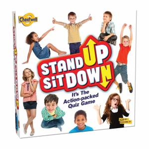 Cheatwell Games Stand up Sit Down Card Game