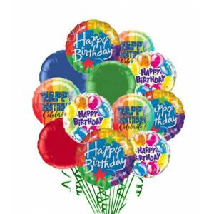 Blooms Today 12 Birthday Balloons Flower Delivery