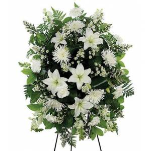 Blooms Today Living Tribute Standing Spray Flower Delivery