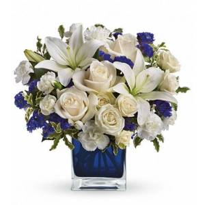 Blooms Today Sapphire Skies Bouquet
