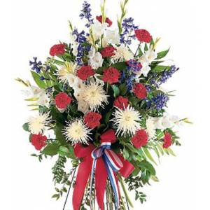 Blooms Today Patriotic Spirit Spray Flower Delivery