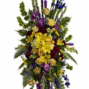 Blooms Today In Loving Memory Spray Flower Delivery