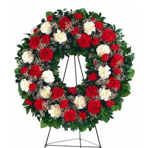 Blooms Today Hope And Honor Wreath Flower Delivery