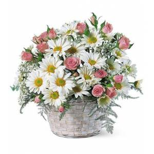 Blooms Today Posy Basket Flower Delivery