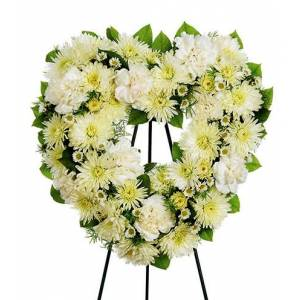 Blooms Today Heavenly Heart Standing Spray Flower Delivery