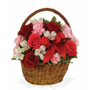 Blooms Today Basket of Love Flower Delivery