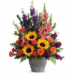 Blooms Today Hues Of Hope Flower Delivery