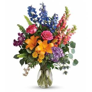 Blooms Today Colors Of The Rainbow Flower Delivery