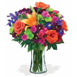 Blooms Today Vibrant Garden Bouquet Flower Delivery