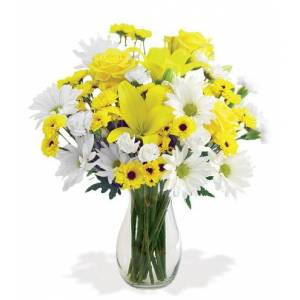 Blooms Today Delightful Sunshine Bouquet Flower Delivery