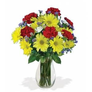 Blooms Today Cheerful Greetings Bouquet Flower Delivery