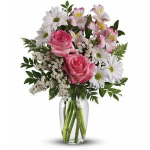 Blooms Today What a Treat Bouquet with Roses Flower Delivery