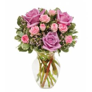 Blooms Today Pastel Rose Garden Flower Delivery