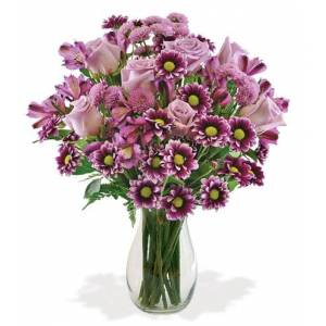 Blooms Today Purple Passion Bouquet Flower Delivery