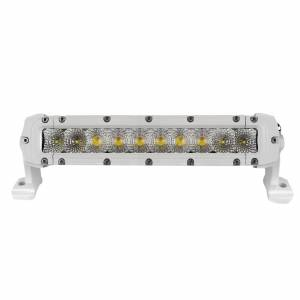 "Marine Sport Single Row 12"" LED Light Bar, White"