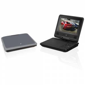 """Dpi Inc 7"""" Swivel Screen Portable DVD Player for Home and Car"""
