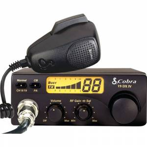 Roadpro Cobra - 40 Channel Compact CB Radio with Illuminated LCD Display