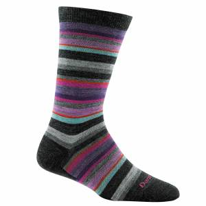 Darn Tough Sock Darn Tough Women's Sassy Stripe Crew Sock