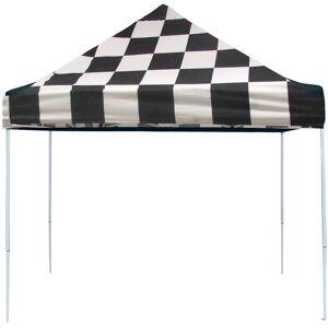 Shelterlogic 10X10 Pro Series Pop-Up Canopy - Checkered Flag