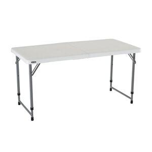 Lifetime 4' White Fold N Half Table