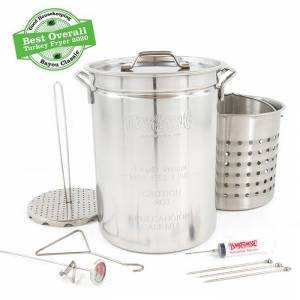 Bayou Classic® Stainless Turkey Fryer w/ Basket