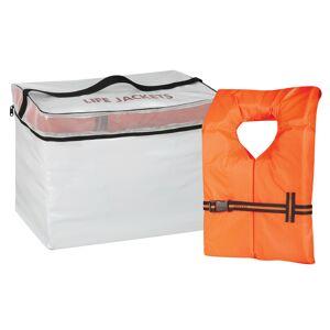 Overton's Life Jacket Storage Bag and 5 Adult Type II Life Vests