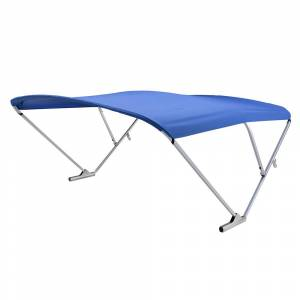 SureShade Power Automatic Bimini Top For Pontoon And Deck Boats w/Anodized Aluminum Frame