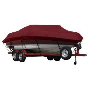 Covermate Exact Fit Covermate Sunbrella Boat Cover for Seaswirl Tahoe 16 Tahoe 16 O/B. Burgundy