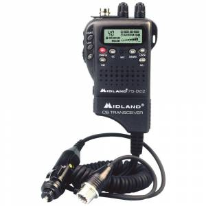 Roadpro Midland Cb Hh, 40Ch, Wx/Hzd Mon. & 12V Adp