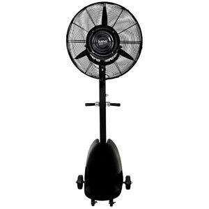 "Luma Comfort Corporation Commercial Misting Fan, Black, 26"""
