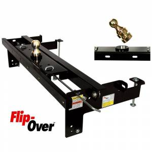 Popup Towing Products LLC Flip-Over Underbed Gooseneck Hitch, Fits 2015-2016 F150 Only