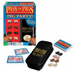 Winning Moves Pass The Pigs Pig Party Editon