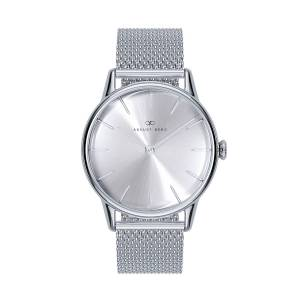 August Berg - August Berg Serenity Silver Classic Simply - Silver Mesh 32mm