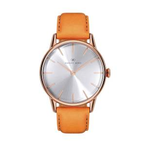 August Berg - August Berg Serenity Rosegold Classic Simply - Light Brown Leather 32mm