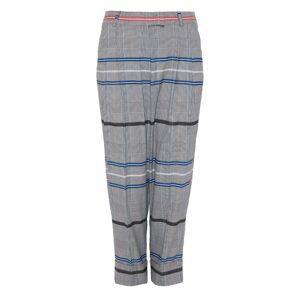 DANEH - Multicolor Cropped Plaid Pants