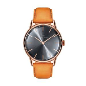 August Berg - August Berg Serenity Rosegold Classic Ash & Orchid - Light Brown Leather 32mm