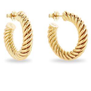 Patty Rose Jewellery - Twisted Hoop Earrings Gold
