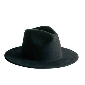 Zenzee - Wes Fedora Hat In Black