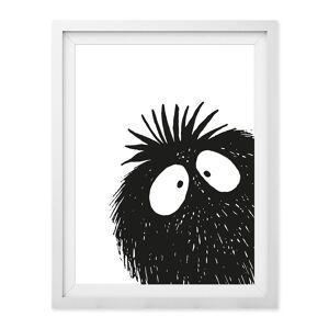 Baldy And The Fidget - Peekaboo Giclée Print