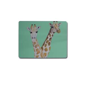 Emily Smith - Giraffe Placemats Set of 4