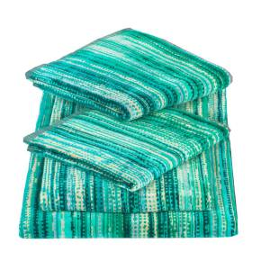 Elaiva - Green Grass Five Piece Bath Towel Set