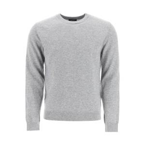 A.P.C. CASHMERE SWEATER M Grey Cashmere